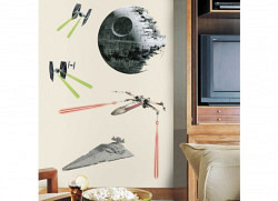 Wandsticker Star Wars Todesstern RoomMates