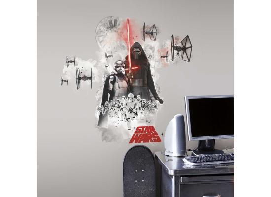 Wandsticker Star Wars dunkle Seite der Macht
