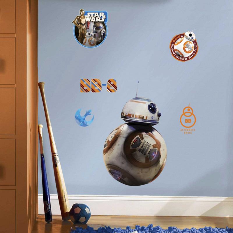 Wandsticker Star Wars Erwachen der Macht Droide ..
