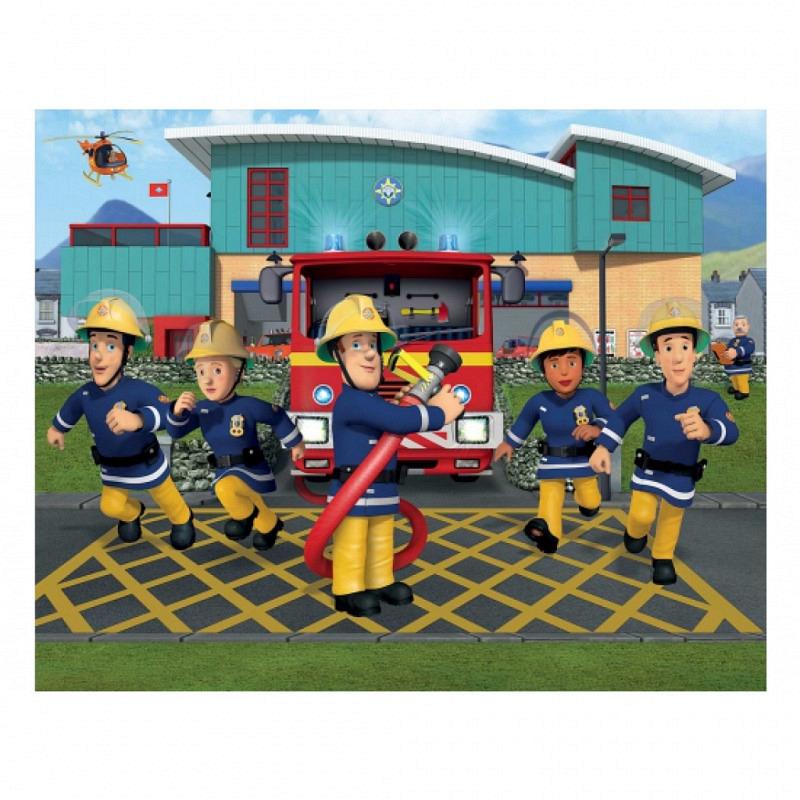 Fototapete Kinderzimmer Feuerwehrmann Sam