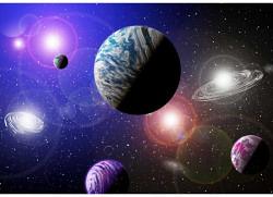 Fototapete Planeten Weltraum