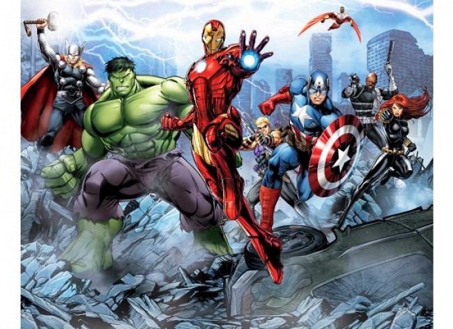 Fototapete Marvel Avengers