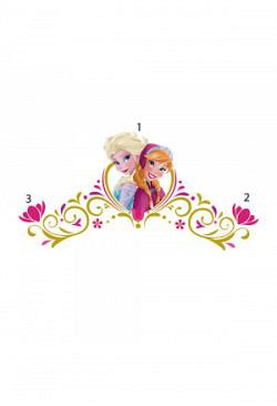 Wandsticker Disney Frozen Bett Kopfteil