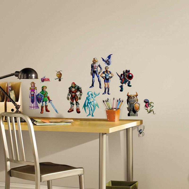 RoomMates Wandsticker Legend of Zelda 3D