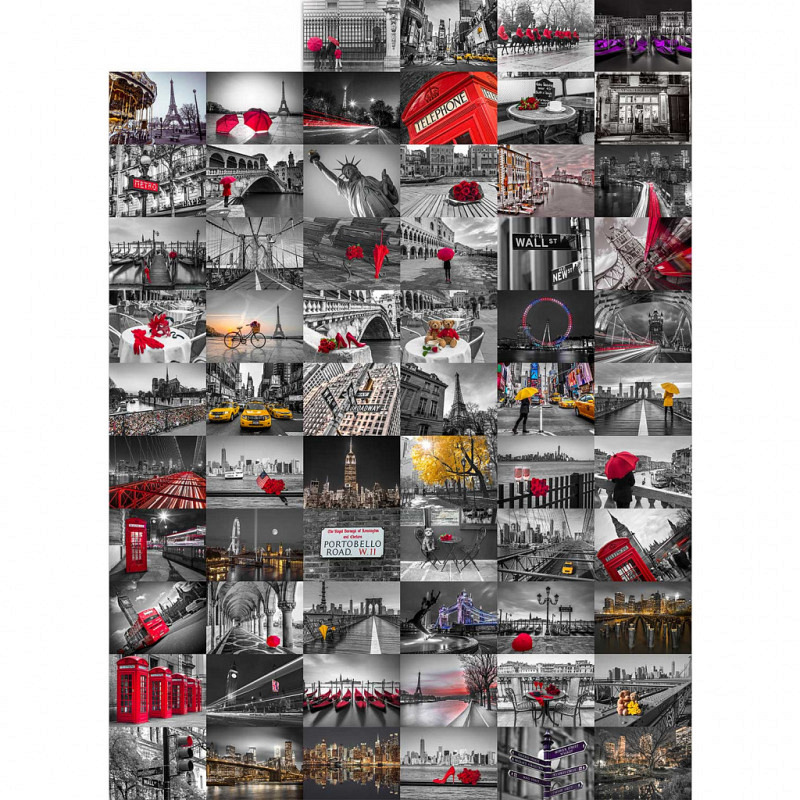 Wanddekoration City Großstadt Flair Designer Tap..
