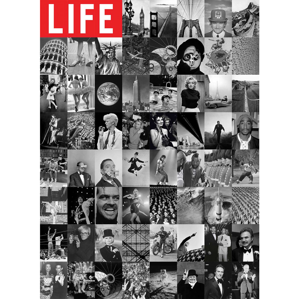 Kreative Collage Life Magazin