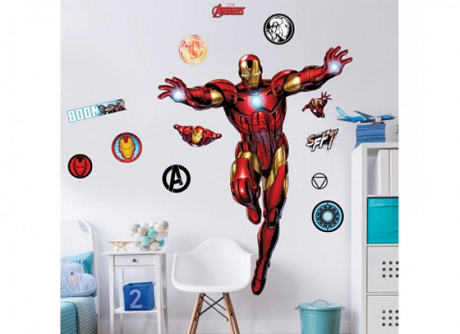 Wandsticker Iron Man XXL