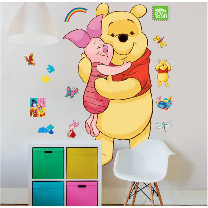 Wandsticker Disney Winnie Pooh XXL