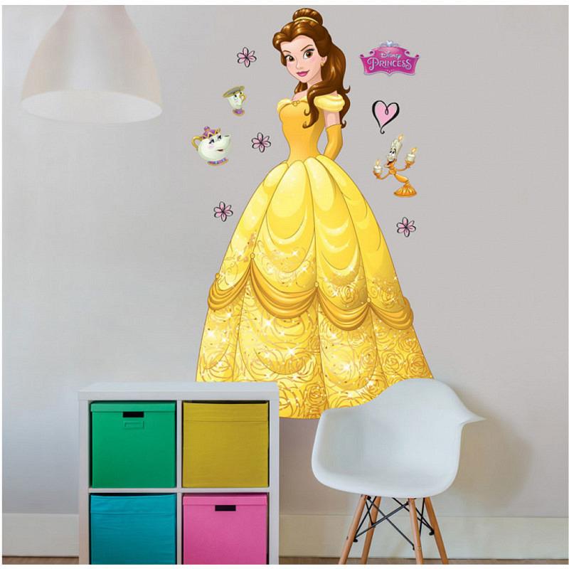 Wandsticker Disney Princess Belle XXL