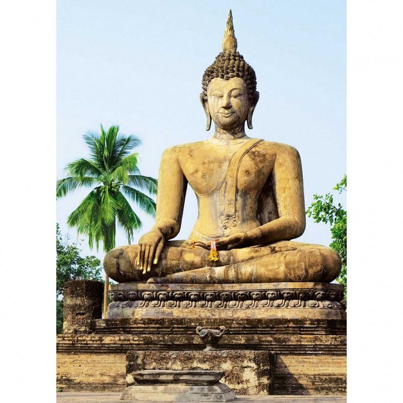 Fototapete Sukhothai Tempel 4teilig