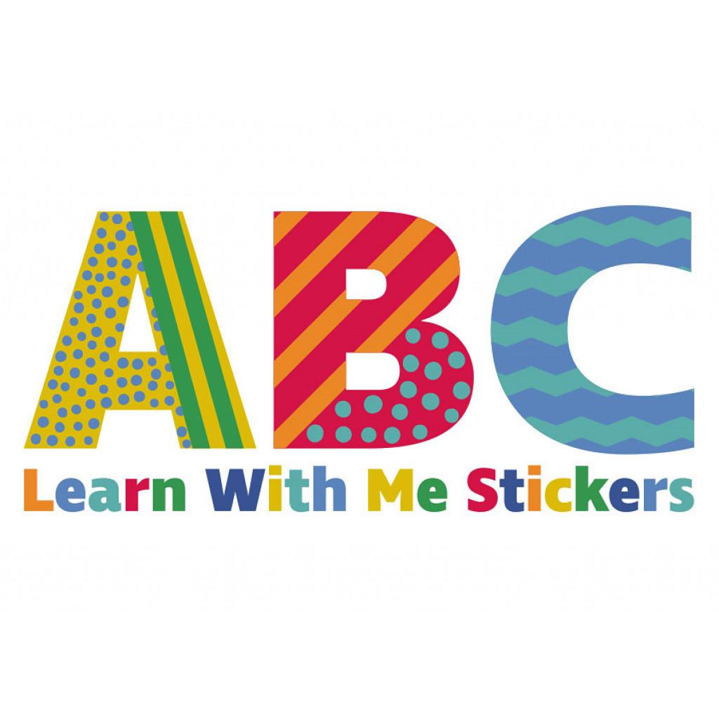 wandsticker alphabet abc buchstaben zahlen wandtattoo. Black Bedroom Furniture Sets. Home Design Ideas