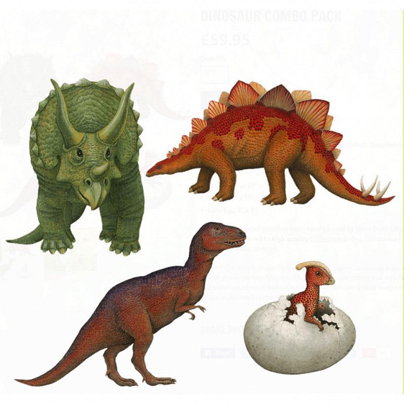 Wandsticker Dinosaurier Starterset