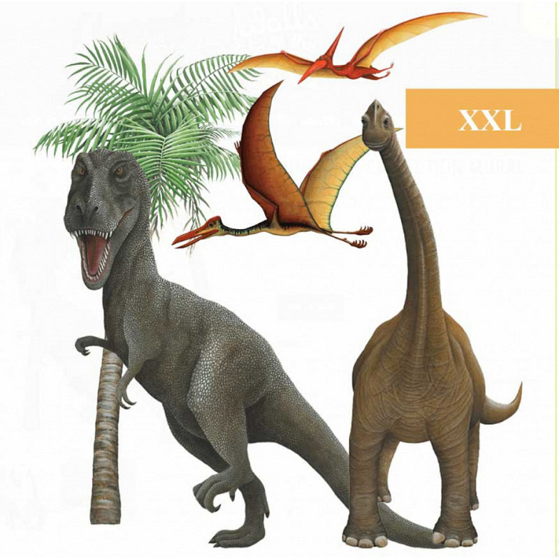 Wandsticker Dinosaurier Wall Art Set