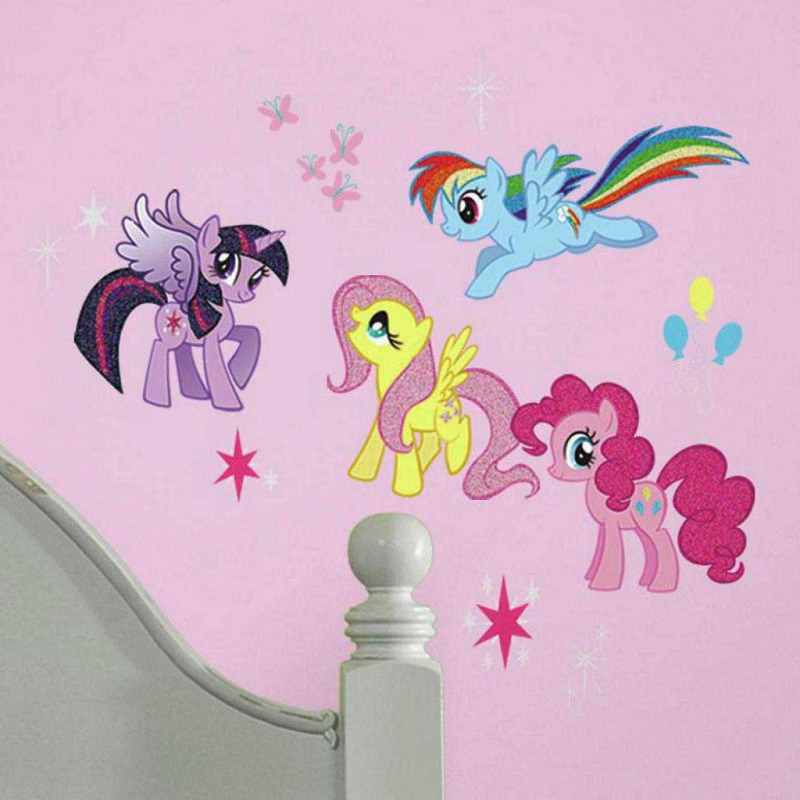 RoomMates Wandsticker My little Pony