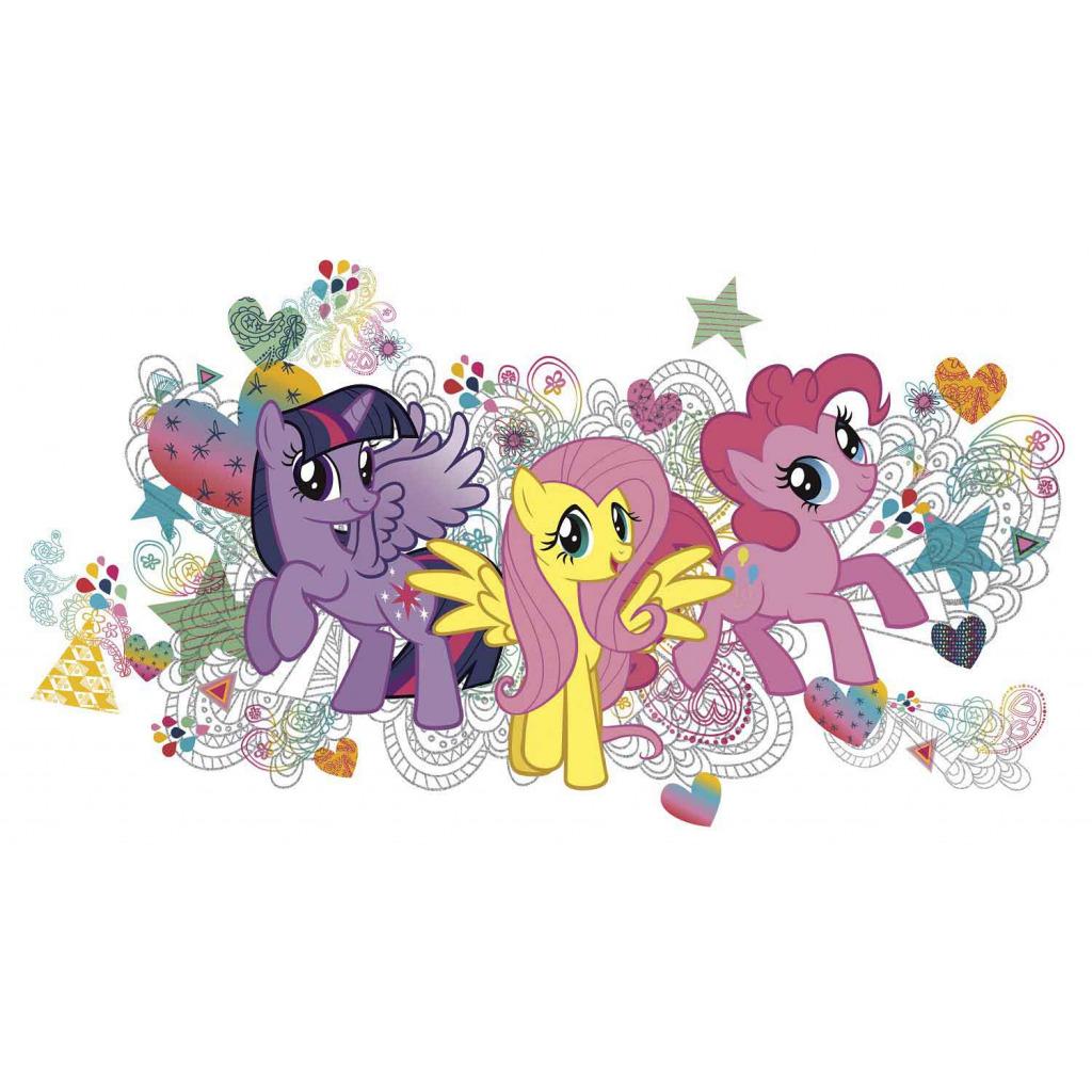 Huis Muurstickers Wandsticker My Little Pony Madchenzimmer Wandtattoo Roommates Ablosbar Neuheit Ceej Com Br