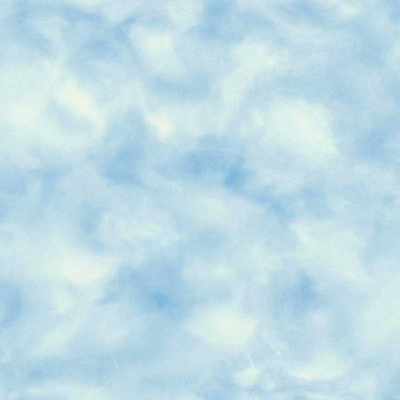 Tapete selbstklebend blaue Wolken