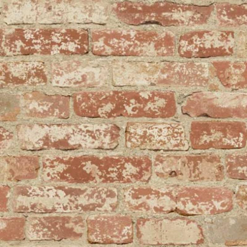 Tapete selbstklebend rote Steinwand