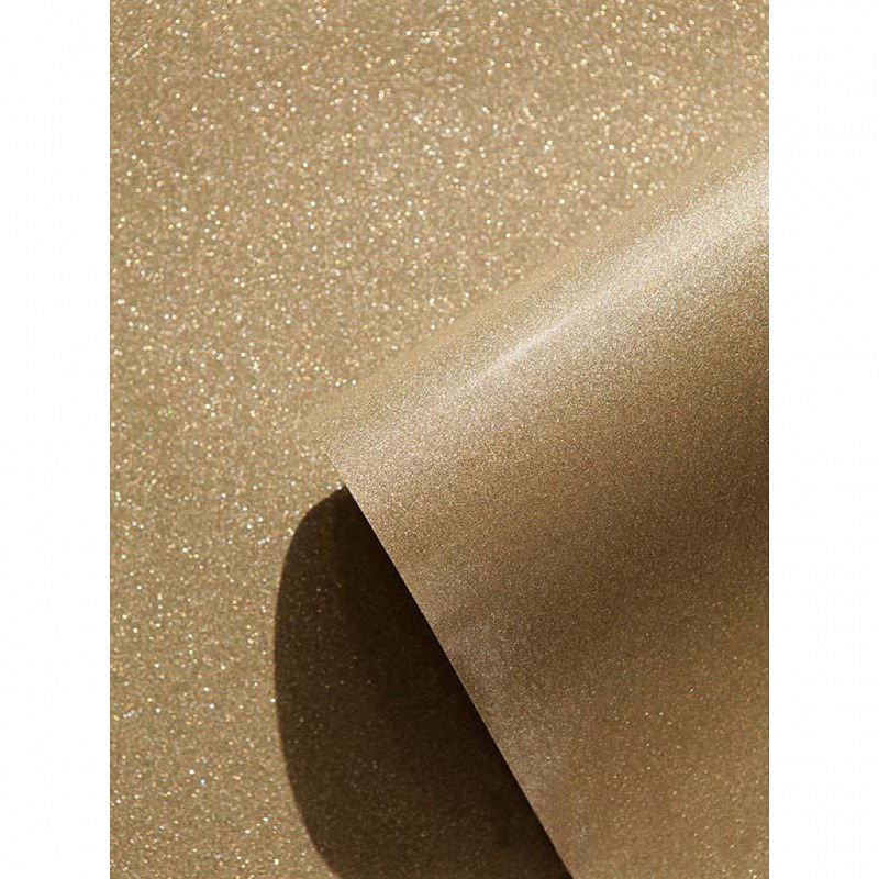 Luxus Tapete Gold Glitter Effekt