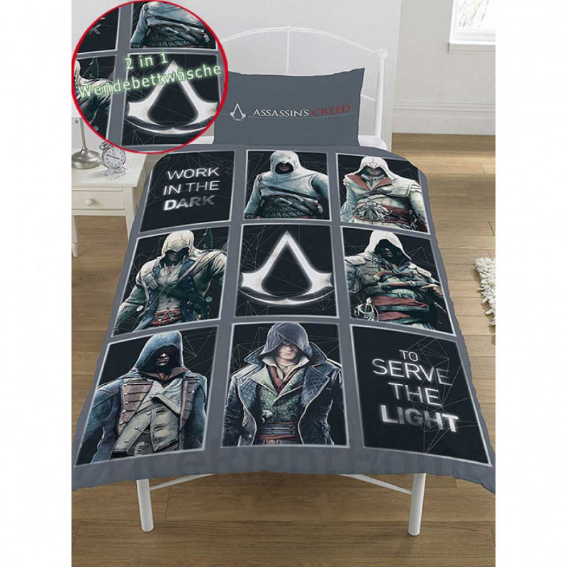 Bettwäsche Assassins Creed Legacy
