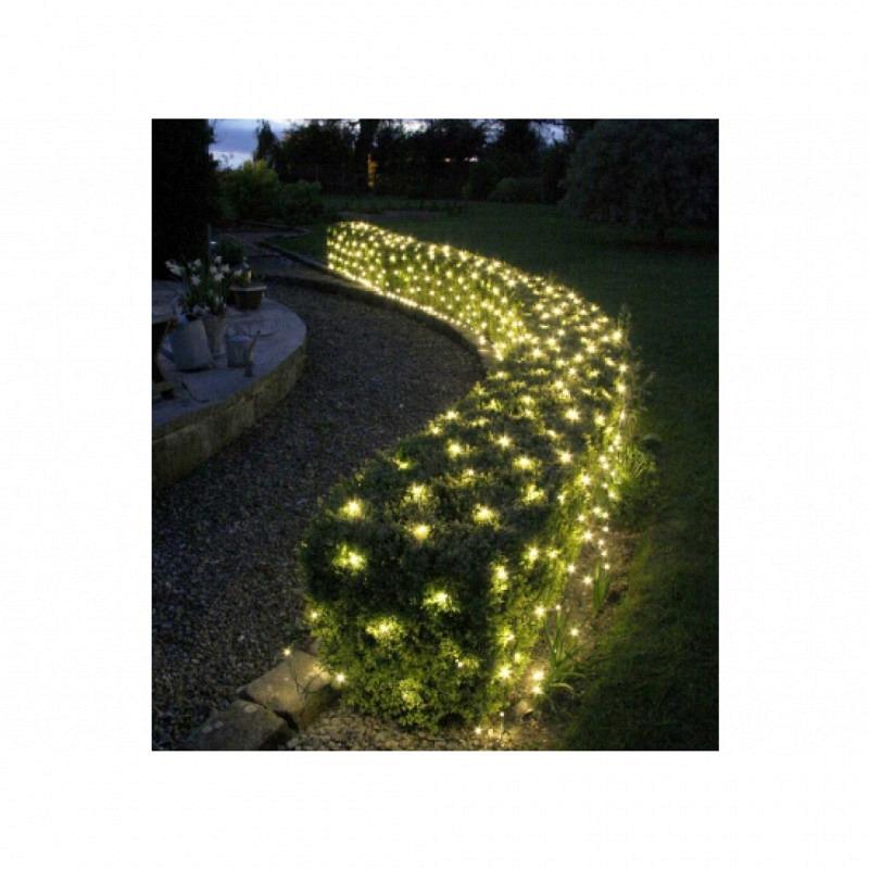 LED Lichternetz für außen 160 Lichter