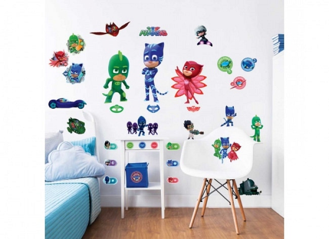 Wandsticker Pyjamahelden PJ Masks