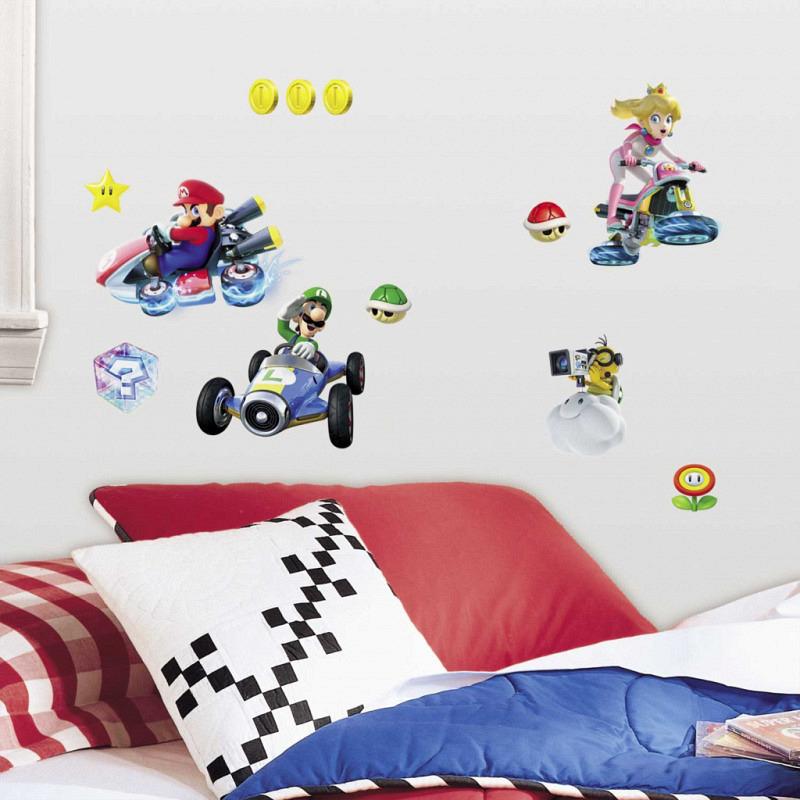 RoomMates Wandsticker Super Mario Kart