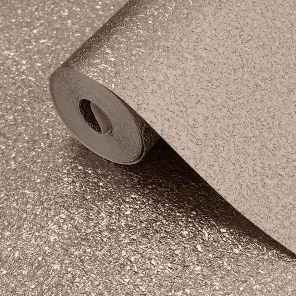 Vinyl Tapete Metallic Schimmer Textur warmes Gold Wandtapete Vinyltapete edel