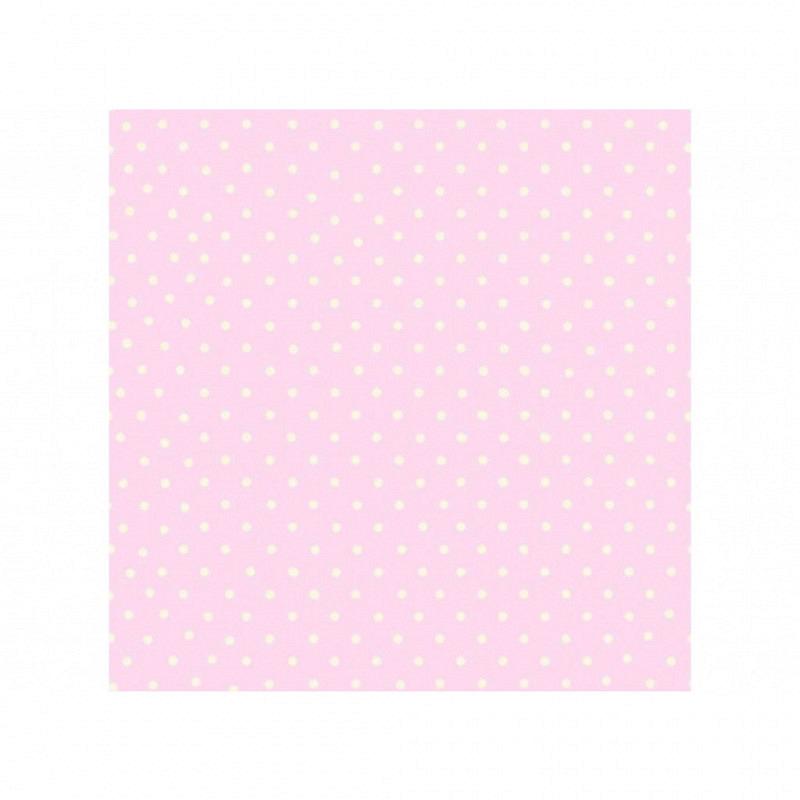Tapete Polka Dot pink