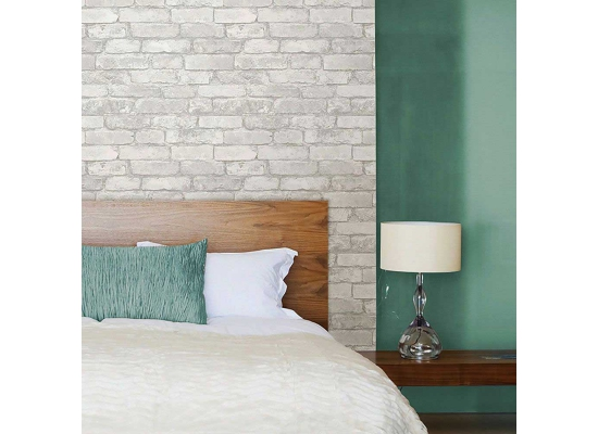 tapete selbstklebend stein grau weiss steintapete. Black Bedroom Furniture Sets. Home Design Ideas