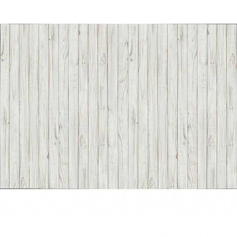 Fototapete Holzwand weiß