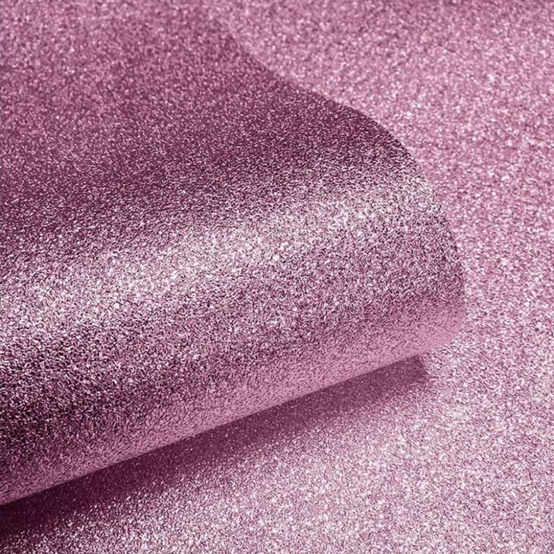 Tapete baby pink Glitter Effekt