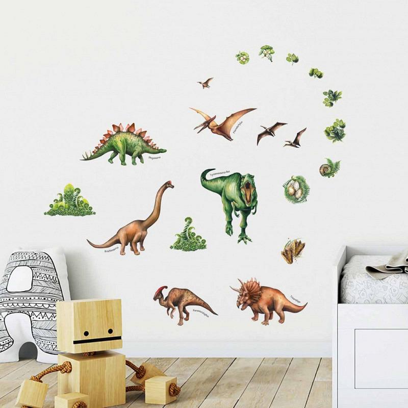 Wandsticker Dinosaurier Vergessene Welt