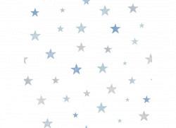 Ökotapete Sterne blau