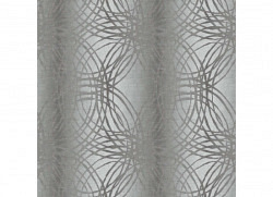 Tapete Leon Geometrie Glitter silber