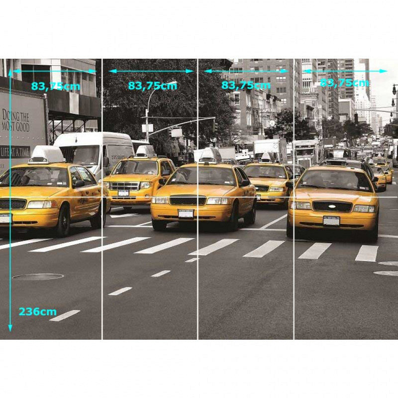 Fototapete yellow Cab