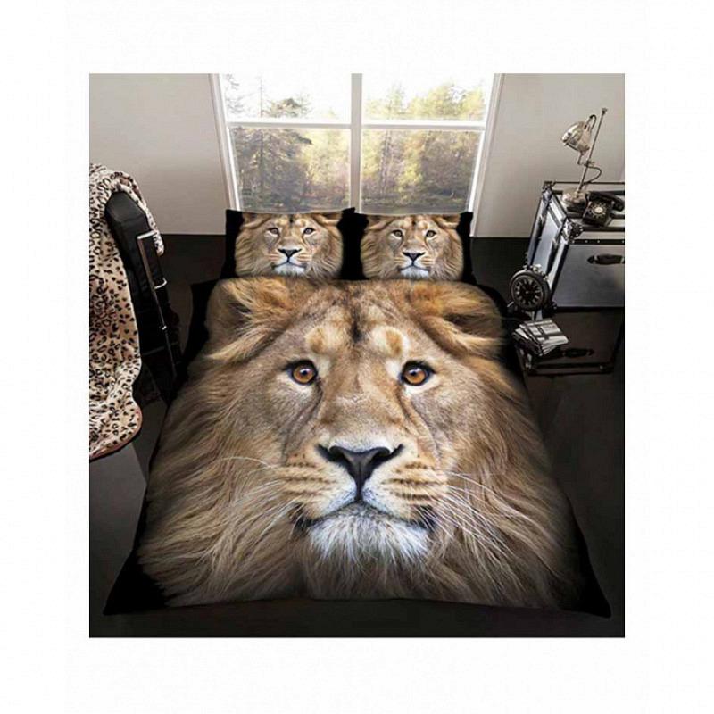 Bettwäsche Löwe