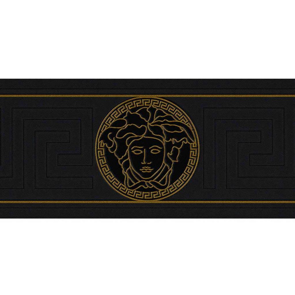 Vlies Bordüre griechischer Schlüssel Versace