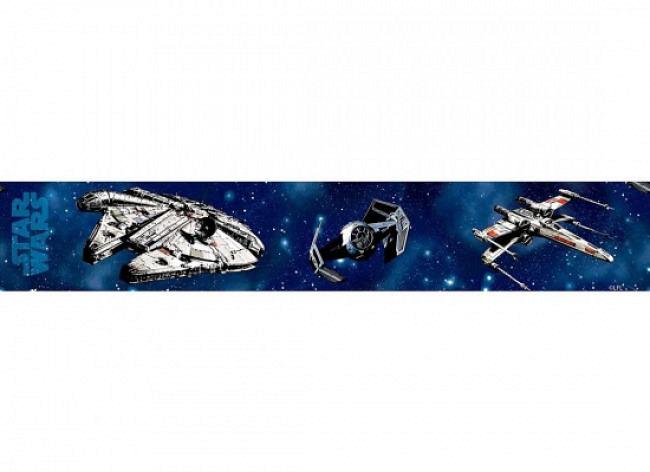 Bordüre Star Wars Raumschiffe selbstklebend