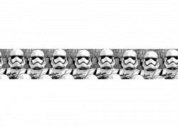 Bordüre Star Wars Sturmtruppen selbstklebend
