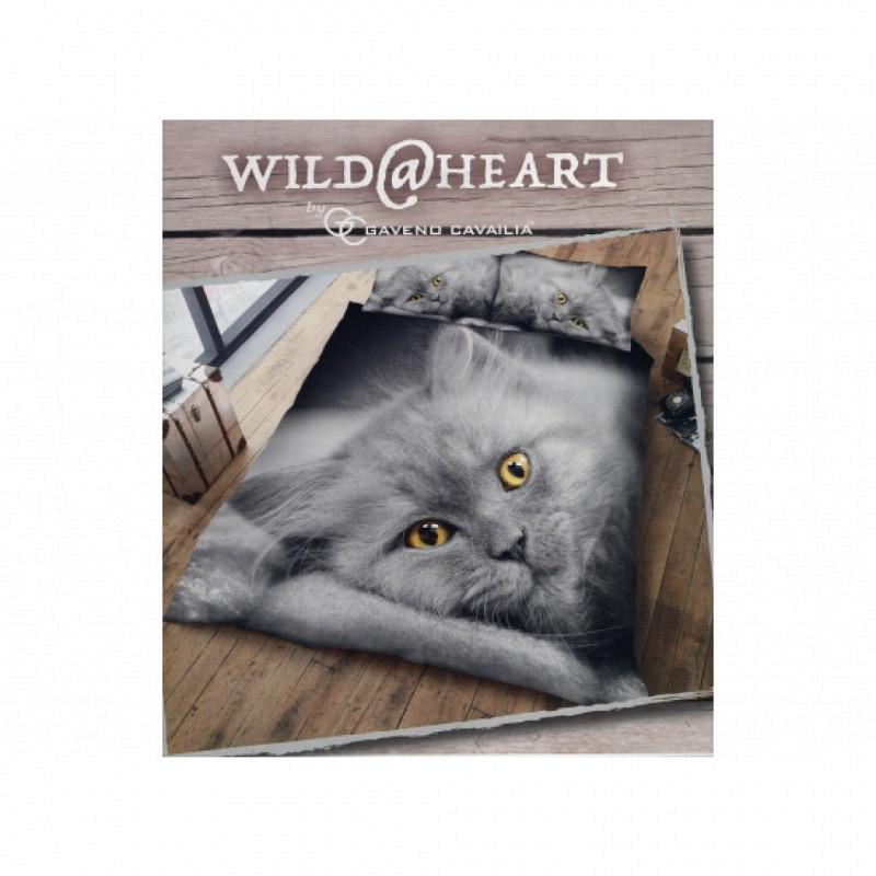 Bettwäsche Katze 3D