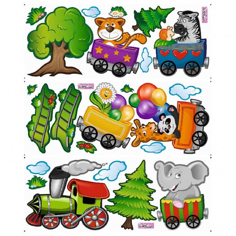Wandsticker Eisenbahn Lok