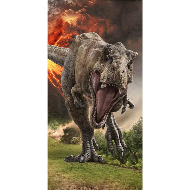 Badetuch Jurassic Park Dinosaurier