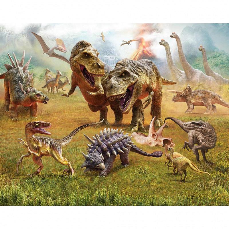 Fototapete Dinosaurier Land