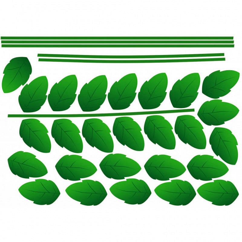 Wandsticker Grünpflanze