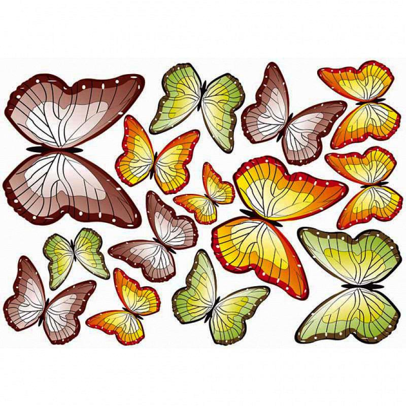 Wandsticker Schmetterlinge