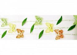 Schmetterlingsgirlanden Set Sisal
