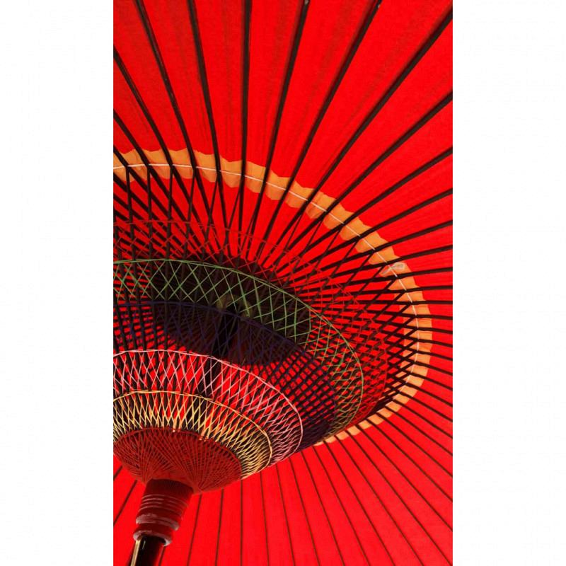 Vlies Fototapete asiatischer Sonnenschirm