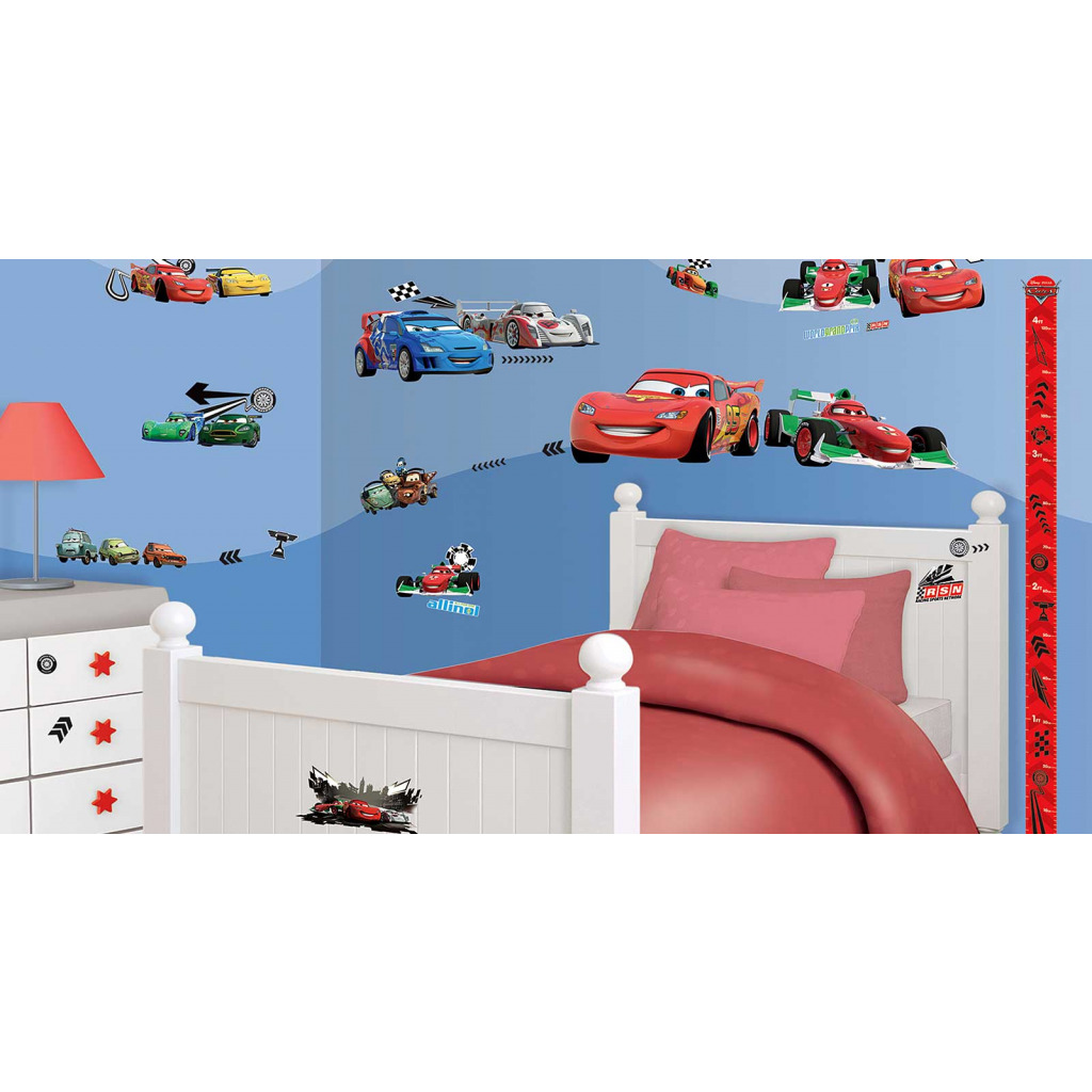 kinderzimmer wand bemalen cars ihr traumhaus ideen. Black Bedroom Furniture Sets. Home Design Ideas