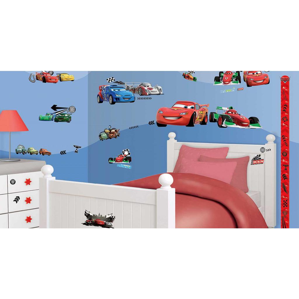 Wandtattoo Disney Pixar Cars Auto Wandsticker Kinderzimmer Jungen 78 Stück Autos