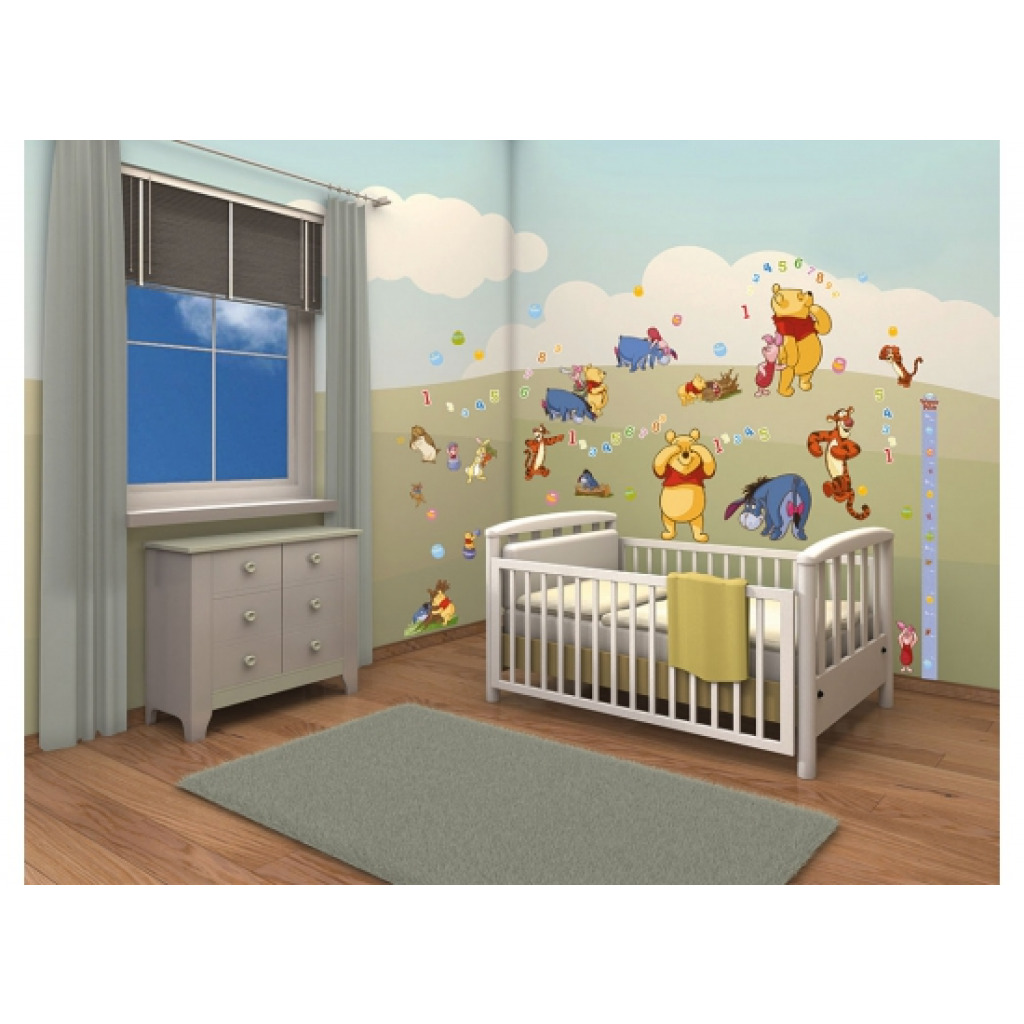 walltastic wandsticker kinderzimmer disney winnie the pooh. Black Bedroom Furniture Sets. Home Design Ideas